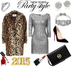 """""""New Year's Eve Party Style"""" by fashionkookoo ❤ liked on Polyvore"""
