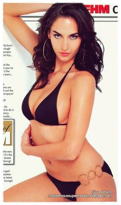 Gina Athans Bikini Photoshoots | Most Famous Supermodels of All Time