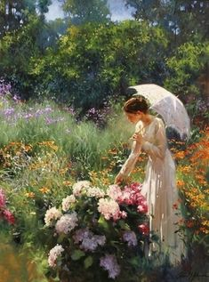 Richard S. Johnson (Take time to sit back and ENJOY your yard and garden)Renoir Art Amour, Pierre Auguste Renoir, Paintings I Love, Oil Paintings, Romantic Paintings, Most Beautiful Paintings, Paintings Online, Fine Art, Renaissance Art