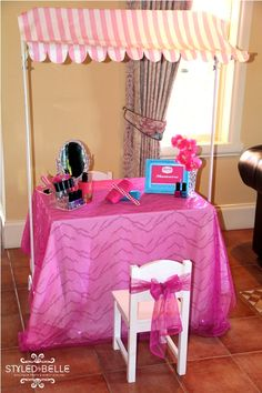 """Little Big Company   The Blog: A """"Beauty Spa: Themed Party by Styled By Belle"""