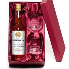 Spoil your favourite Spurs fan with this gorgeous gift pack which contains a bottle of malt whisky with a personalised label and two engraved tumblers. Ideal for birthdays, anniversaries, Christmas, Father's Day, retirements or any other special occasion. #spurs #tottenhamhotspurs #thfc #spursgifts #thfcgifts #football #footballgifts #giftsforhim