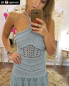 WEBSTA @ vanessamontoro - ❤❤❤ Gold Coast Acqua Dress  #Repost @gipirozzi with @repostapp・・・Difícil…