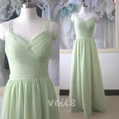 Long chiffon bridesmaid dress light green bridesmaid dresses with spaghetti straps bridesmaid dresses navy blue bridesmaid dresses