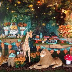 Jungle Safari Themed Birthday Party Ideas
