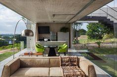 Casa de praia no RN tem solário no teto para apreciar a paisagem