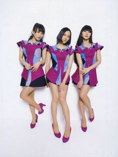 Perfume in the No. 13 issue of CD&DL Data