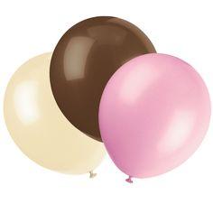 Camo Celebrations  - Pink Camo Balloons Set of 6, $1.99 (http://www.camocelebrations.com/pink-camo-balloons-set-of-6/)