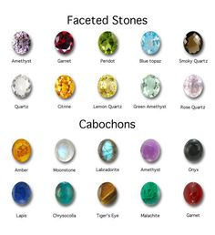 cool guide to stones