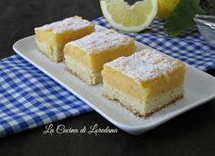 Torta al limone - Fresca e profumata