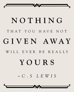 given away darling-quotes