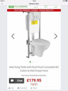 Wall hung Wall Hung Toilet, Plumbing, Bathroom, Frame, Washroom, Picture Frame, Bath Room, A Frame, Bath