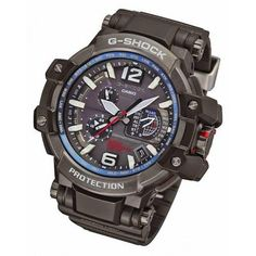 GPW-1000-1A - G-Shock New Zealand - GPW1000-1A Casio G-Shock GPS Hybrid Waveceptor. Apart from being the world's first GPS Waveceptor hybrid watch, this awesome watch is packed full with G-Shock goodness like SmartAccess crown, Triple G Resist and carbon fiber bands. #gshock
