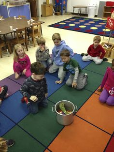 Mrs. Goff's Pre-K Tales: Stone Soup activities