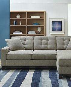 Clarke Fabric Sectional Sofa Collection Created for Macyu0027s : sectional sofa macys - Sectionals, Sofas & Couches