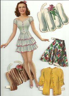 Deanna Durbin 1941 Merrill 4804 Cut Set   eBay