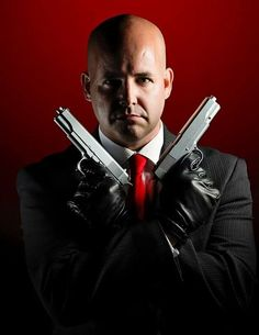 #Hitman's Agent 47 by #cosplayer Lord Vishus #cosplay....