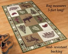 Northwoods Woodland Trails Rug