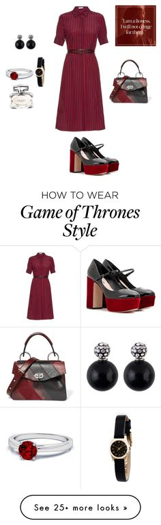 """Untitled #22"" by palak-obhan on Polyvore featuring Altuzarra, Miu Miu, Proenza Schouler, Marc by Marc Jacobs and Gucci"