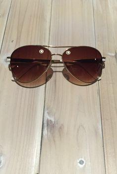 b97533ddc0  Wanna Have Fun  Aviator Sunglasses - White.