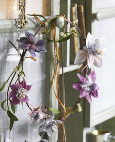 Blomsterkrans med mistelten