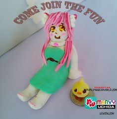 Feels almost impossible to craft anything properly with playdoh >.<  www.paigeeworld.com #teamnyan #marvyuchida