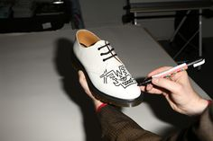 Custom artwork by Mark Wigan. Head to the Dr Marten's website to check out the collaboration.