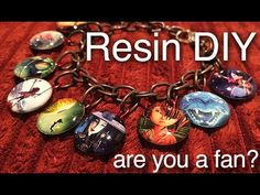 Movie Themed Resin Photo Jewelry Tutorial