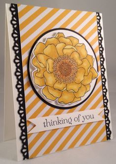 Stampin' Up! Blended Bloom Blendabilities Card