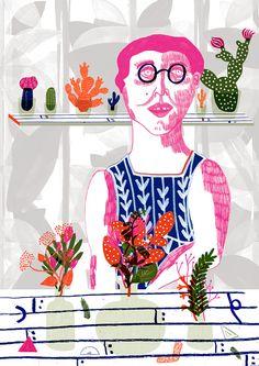 Image of Botanist Print