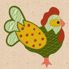 CinDes Embroidery Designs - Free Chicken Scratch