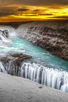 Gullfoss, Iceland by Pai Shaka