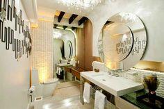 40 Bancadas de banheiros/lavabos - veja modelos modernos e maravilhosos! - DecorSalteado