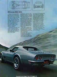 The Corvette in 1971 favorite car everr