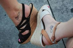Best Friend Tattoos for Girls | Best Friend Tattoos for Girls 2013. You could do the infinity sign with best friends in it.
