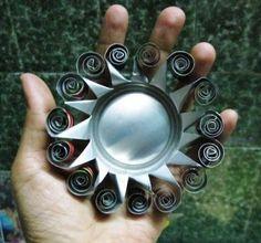 Sun Burst Repurposed Aluminum Can
