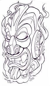 tiki coloring pages - Google Search