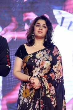 Charmi Kaur at Meeku Maathrame Cheptha Pre-Release Event Beautiful Girl Indian, Most Beautiful Indian Actress, Beautiful Saree, Beauty Full Girl, Beauty Girls, Women's Beauty, Natural Beauty, South Indian Actress Hot, South Actress