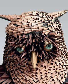 Escultura de Papel http://www.souzaarte.com/#!/cnfd