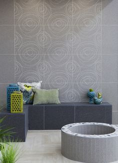 Outdoor areas are an extensions of your home, why not add some pizzazz  to them with natural looking tiles