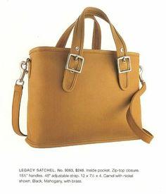 Vtg Coach legacy satchel 9063