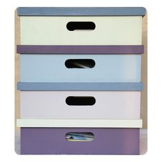 Painted Storage Boxes. 20513