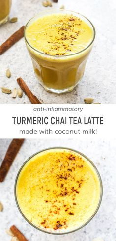 This Turmeric Chai Tea Latte is an easy and nourishing morning beverage! It has a boost of caffeine from black tea, a creamy sweetness, health enhancing turmeric, and a perfectly balanced spice mix. Tea Recipes, Coffee Recipes, Drink Recipes, Paleo Recipes, Healthy Foods To Eat, Health And Nutrition, Proper Nutrition, Nutrition Tips, Paleo Food