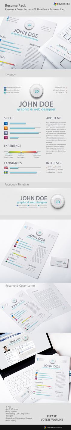 Diego Dzienciol http\/\/wwwbehancenet\/gallery\/My-new-resume - my new resume