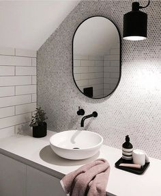 White Bathroom Ideas - Discover the leading best white bathroom ideas featuring distinct faucet, fixture and also decor accents. Discover tidy as well as distinct home interior decoration ideas. Laundry In Bathroom, Bathroom Renos, Bathroom Inspo, White Bathroom, Bathroom Interior, Bathroom Inspiration, Modern Bathroom, Small Bathroom, Master Bathroom