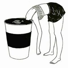 Me with my coffee this morning. Lol