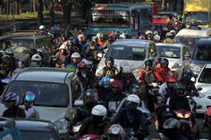 This is a picture that was taken in 10th October. This picture is interesting because it shows us what is special in Jakarta. This picture show us how many cars are made in Jakarta