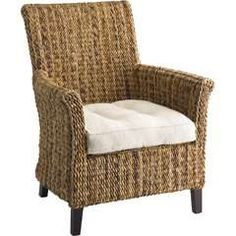 beautiful rattan chair to complete the room