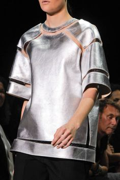 Alexander Wang | Fish String Thread-Attached Pullover | #SS2013 | #NYFW