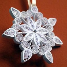 Quilled Snowflake - 2