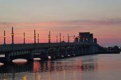 Dawn at the Bridge of Lions